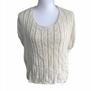 Chelsea & Theodore Knit sleeveless sweater